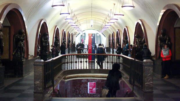 Центральные станции метро Москвы закроют на выход 7 мая