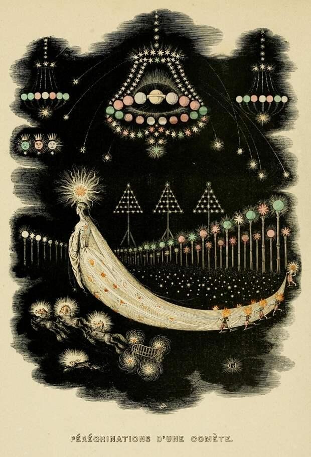 Кометы и метеориты глазами ученых и художников прошлых веков