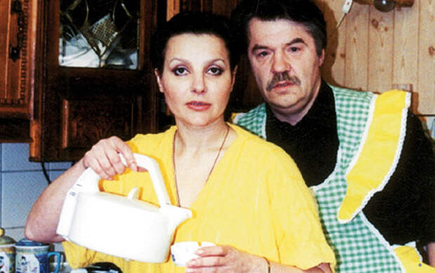 Александр с женой Еленой