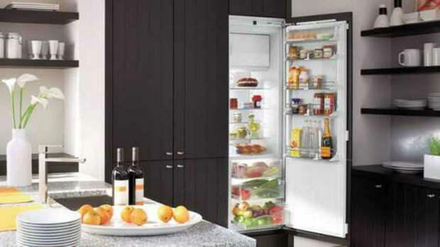 5 причин отказаться от покупки встроенного холодильника