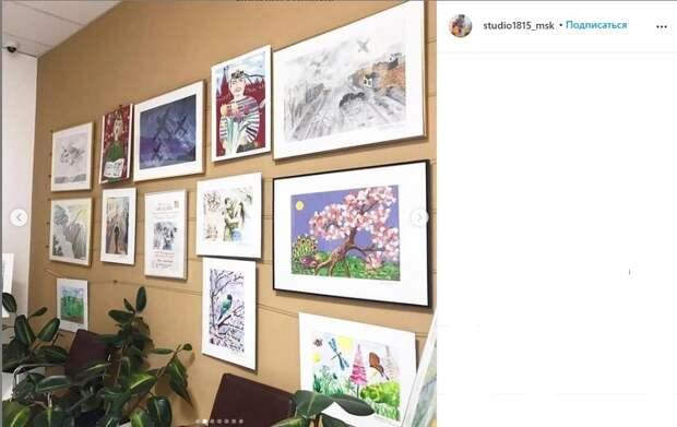 Фото дня: в МФЦ «Бескудниково» обновилась выставка детского творчества