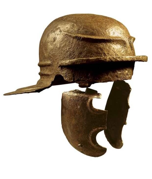 Римские имперские шлемы. Изменение веса шлема от его комплектации и отделки.