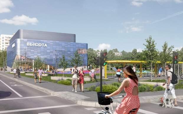 Районный центр станет новым местом отдыха для жителей Кузьминок / Фото: stroi.mos.ru