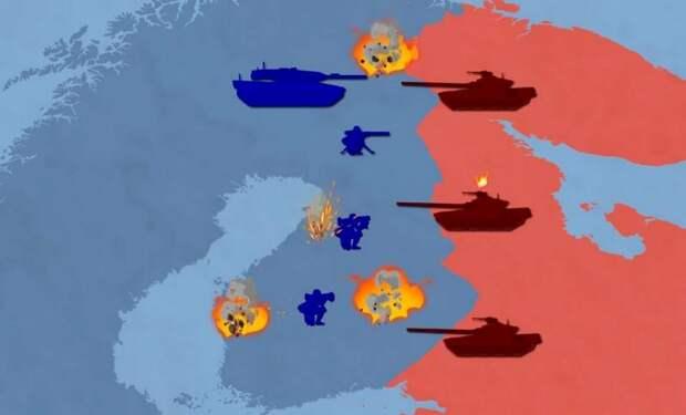 «Большие потери сломят боевой дух русских»: в Европе представили сценарий войны Скандинавии с РФ