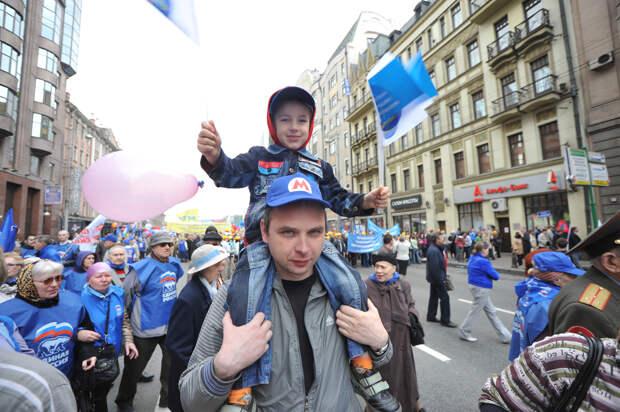 Путин объявил 1 – 10 мая выходными днями