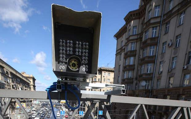 Рекордное превышение скорости зафиксировали камеры на МКАД