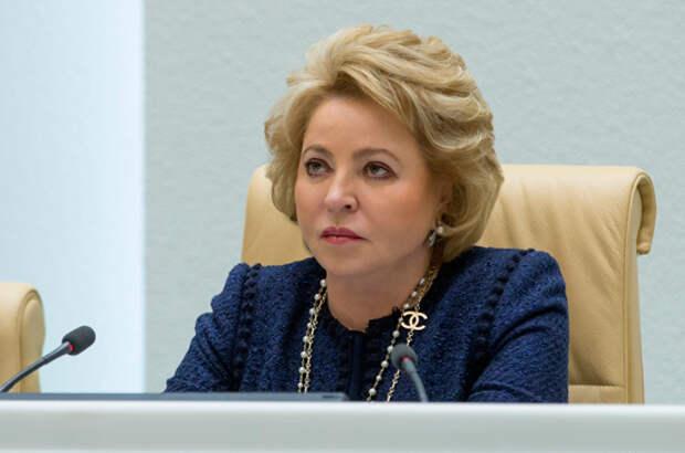 Матвиенко надеется на принятие законов о детском питании и многодетных семьях до конца июля