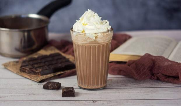 Тройной горячий шоколад