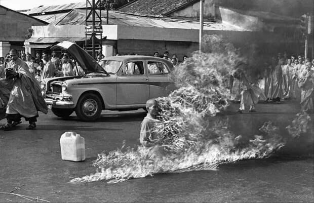 6. Протест буддийского монаха Вьетнам, война во вьетнаме, вьетнамская война, сша