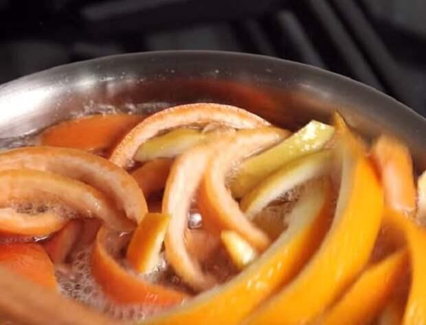 Собирайте апельсиновые шкурки, и приготовьте из них такое лакомство!