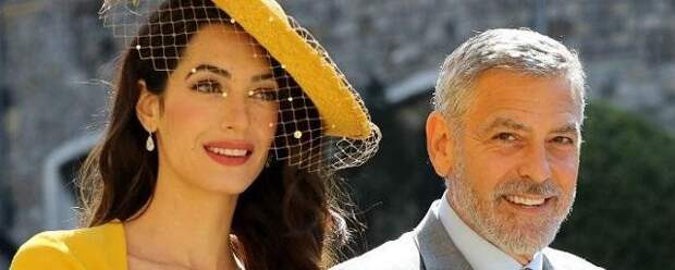 60-летний Джордж Клуни вновь станет отцом