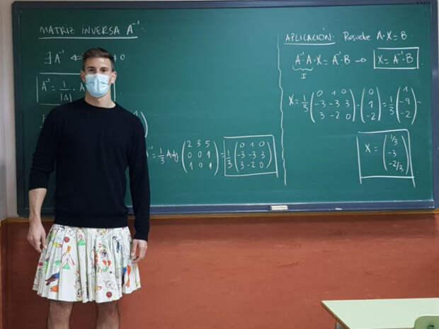 Учителя в испанских школах стали ходить на работу в...