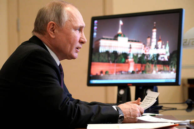 Путин ответил Байдену на его обвинения, вспомнив присказку из детства
