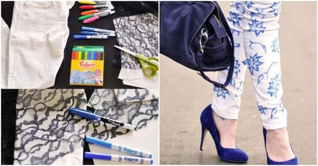 10 креативных способов обновить старые джинсы