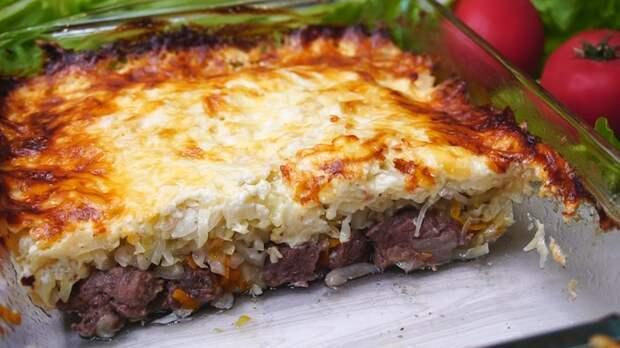 Мясо под капустной шубкой Мясо, Ужин, Рецепт, Капуста, Видео рецепт, Видео