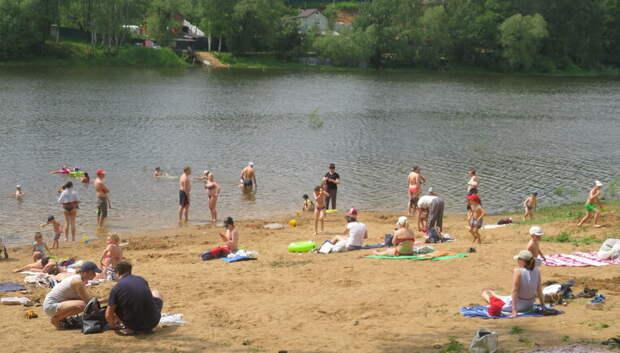 Свыше 100 пляжей откроются с 1 июля в Подмосковье