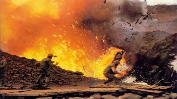 12. Осада Кхешани Вьетнам, война во вьетнаме, вьетнамская война, сша