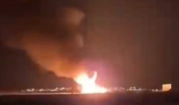 Загорелось одно изкрупнейших месторождений нефти вмире