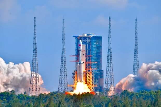 Грузовой корабль «Тяньчжоу-3» пристыковался к новой китайской орбитальной станции