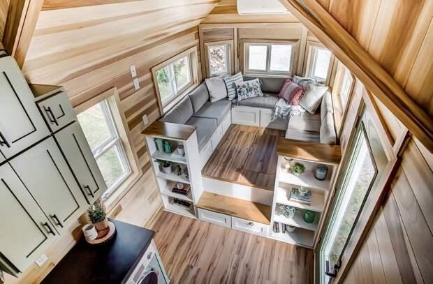 Если в доме тесно: идеи обустройства узких пространств