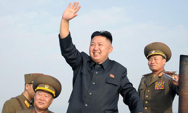 Путин поздравил Ким Чен Ына с днем основания КНДР