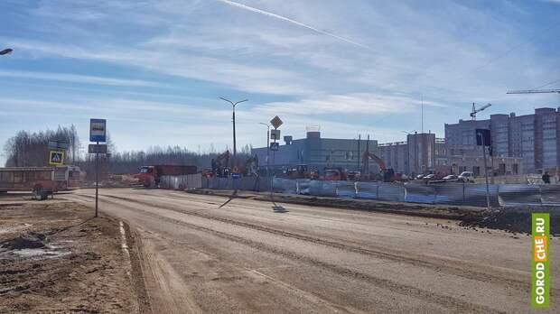 Перекресток Рыбинская-Шекснинский в ЗШК откроют в пятницу 7 мая