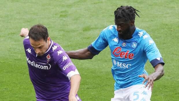 «Фиорентина» проиграла «Наполи» в 37-м туре Серии А, Кокорин остался в запасе