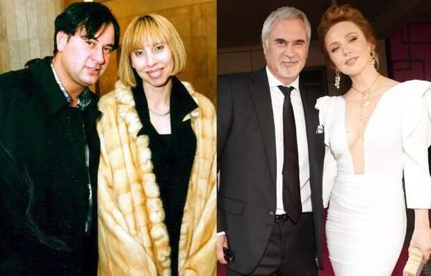 Валерий Меладзе с бывшей женой Ириной/Валерий Меладзе и Альбина Джанабаева