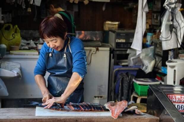Самый большой в мире рыбный рынок