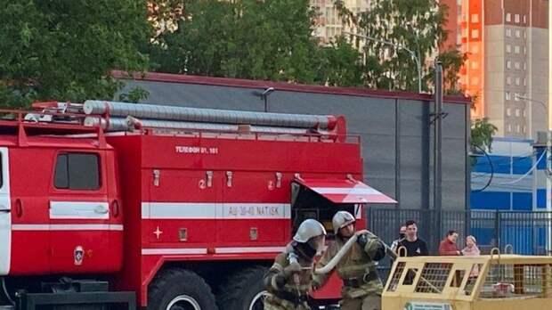 Петербуржец погиб при пожаре на улице Красного Курсанта