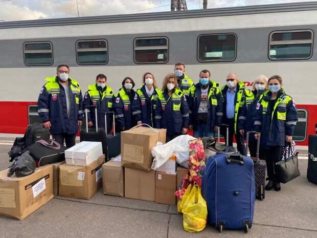 10 московских врачей отправились на помощь медикам Удмуртии в борьбе с коронавирусом