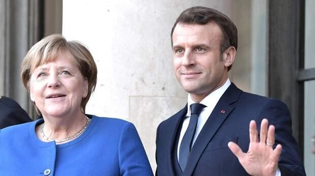 Меркель и Макрон после беседы с Зеленским призвали РФ отвести войска от границ с Украиной