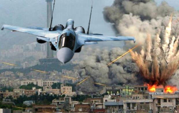 ВКС РФ наносит удары по позициям террористов в Сирии после нападения в Дейр-эз-Зоре