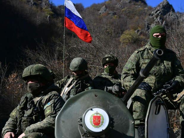 СМИ: в Нагорном Карабахе обстреляли позиции российских военных