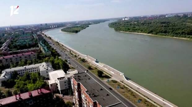 В Омске на инженерные изыскания для благоустройства 15-километровой набережной выделили 12 млн рублей