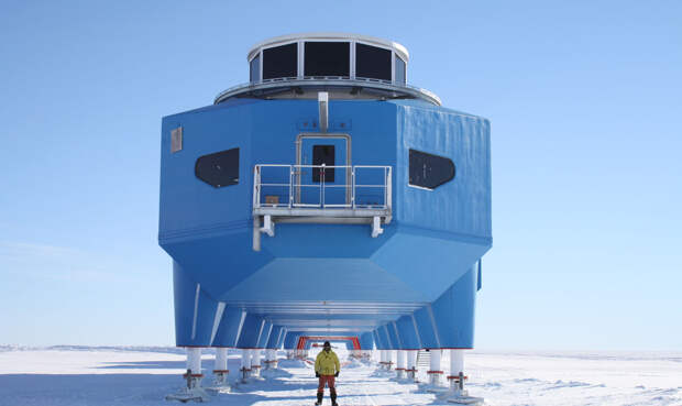 Как устроена антарктическая исследовательская станция