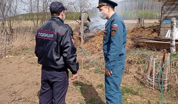 Пожарные отправились в рейд по садовым участкам в Нижнем Тагиле