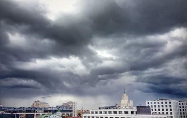 Желтый уровень погодной опасности объявлен в московском регионе