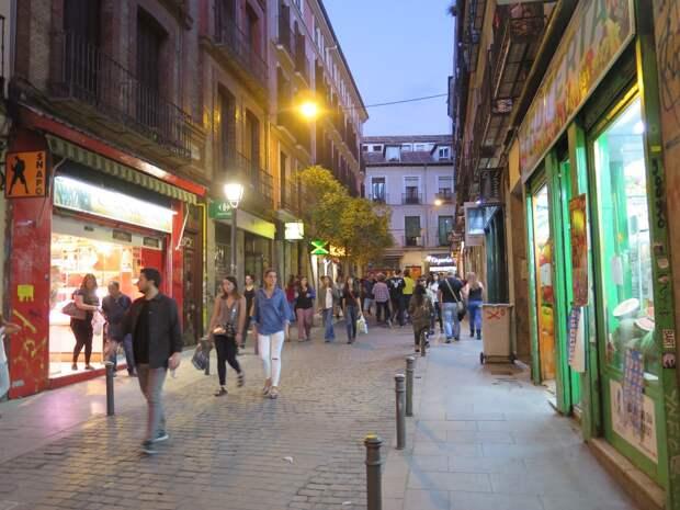 Гей-квартал Мадрида — Чуэка