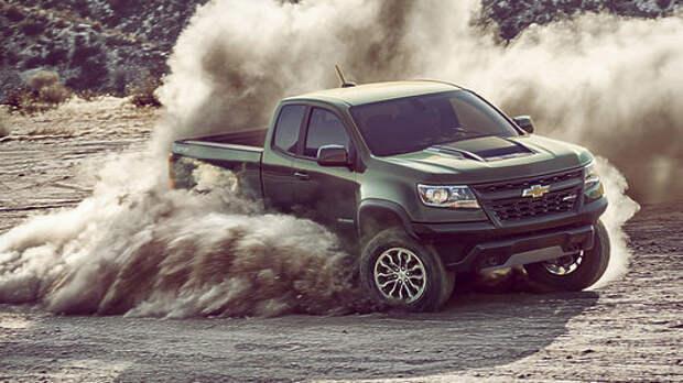 Не разбирая дороги: Chevrolet показала оффроудный Colorado ZR2