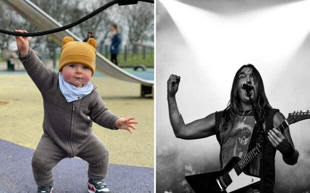 Мама услышала первое слово сына и поняла: он будущий вокалист метал-группы