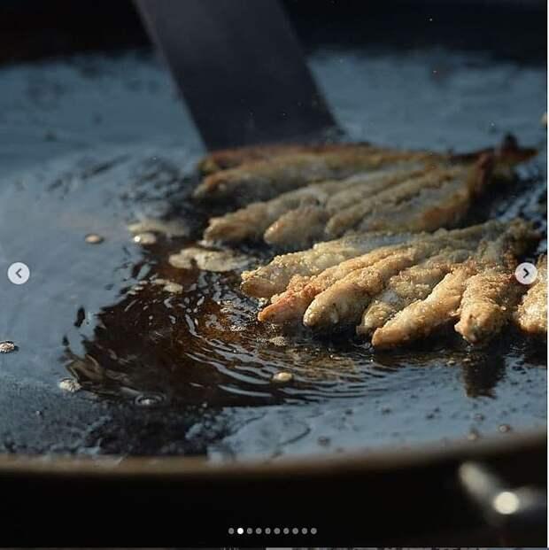 И рыбку съесть, и повеселиться: В Ленинградской области стартовал фестиваль «Корюшка идет!»