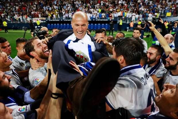 """""""У меня больше нет поддержки от клуба. Нет веры в меня"""". Открытое письмо Зидана после ухода из """"Реала"""""""