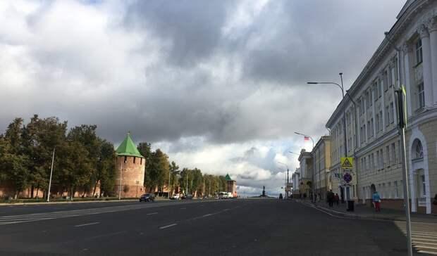 Облачная ипрохладная погода ожидается вНижнем Новгороде