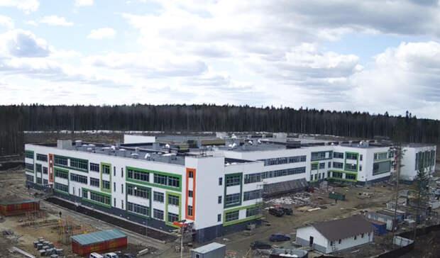 Самая большая школа в Петрозаводске стала на шаг ближе к открытию