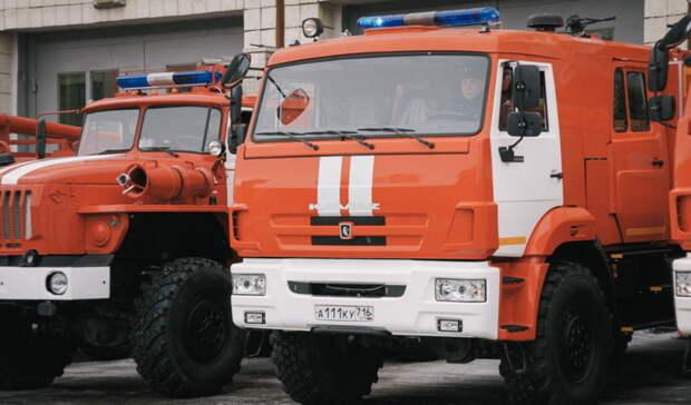 На пожаре под Оренбургом погиб человек