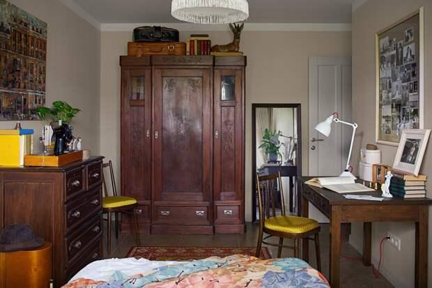 5 фото стильной квартиры с советской мебелью