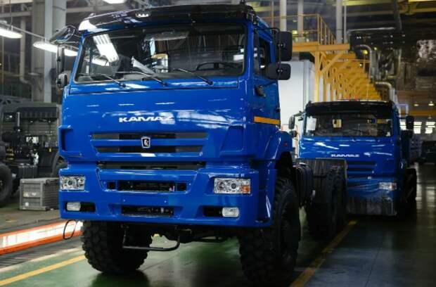 """КАМАЗ"" за 5 месяцев 2021 года увеличил выпуск грузовиков на 26%"