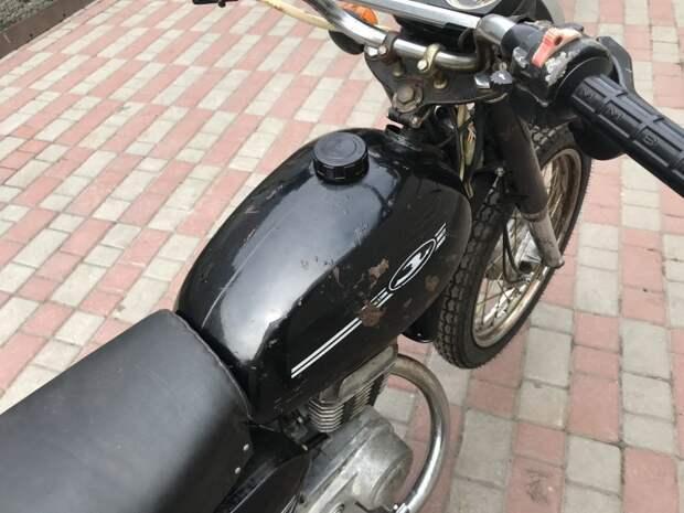 "Капсула времени: Мотоцикл ""Минск"" 1992 года  авто, капсула времени, минск, мото, мототехника, мотоцикл, мотоцикл минск, мотоциклы"