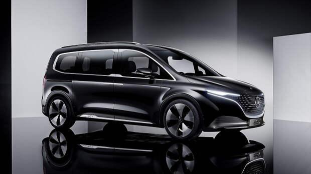 Представлен семиместный электромобиль Mercedes-Benz Concept EQT